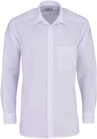Marvelis - Camisa Formal - Básico - Cuello Kent - para Hombre: Amazon.es: Ropa y accesorios