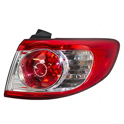 Passengers Taillight Tail Lamp Replacement for Hyundai SUV 92402-0W500 (Santa Lamp)
