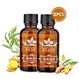 Ginger Essential Oil Natural Plant Lymphatic Drainage Ginger Essential Oils, Natural Anti Aging