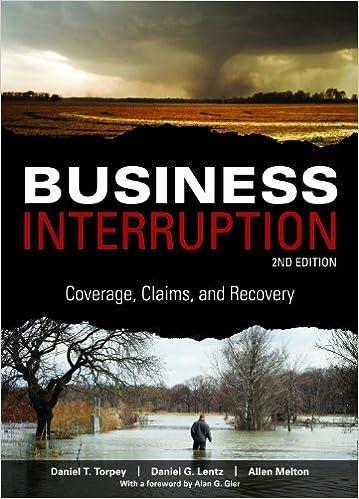 Read Business Interruption, 2nd edition PDF, azw (Kindle), ePub