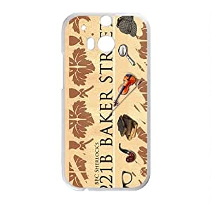 DASHUJUA 221B BAKER STREET Cell Phone Case for HTC One M8