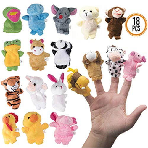Plush Finger Puppets are cute easter basket fillers for boys
