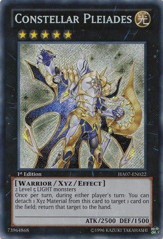 Yu-Gi-Oh! - Constellar Pleiades (HA07-EN022) - Hidden Arsenal 7: Knight of St..., Single Cards - Amazon Canada