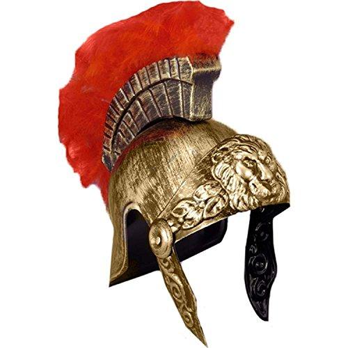 Medieval Soldier Costumes (Roman/Greek Soldier Helmet - Plastic)
