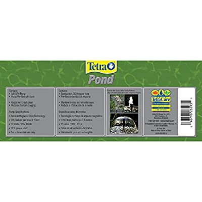 TetraPond Filtration Fountain Kit