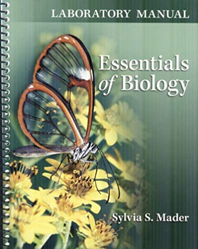 amazon com lab manual for essentials of biology 9780077402150 rh amazon com Biology Sylvia Mader Human Biology
