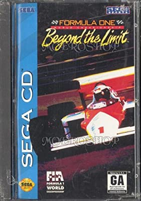 Formula One World Championship Beyond The Limit Sega CD