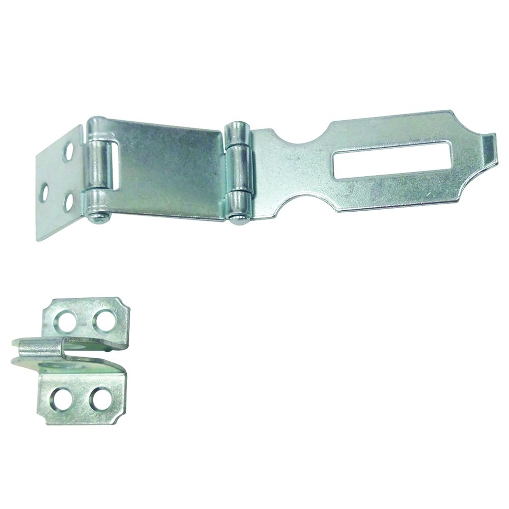 Prime Line MP5089 1 Safety Hasp 3 Inch Steel Construction Zinc Plated Finish Pack of 1