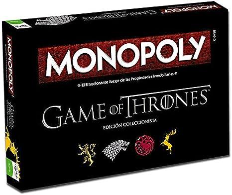 Juego de Tronos Monopoly (82905), Multicolor (Eleven Force: Amazon ...