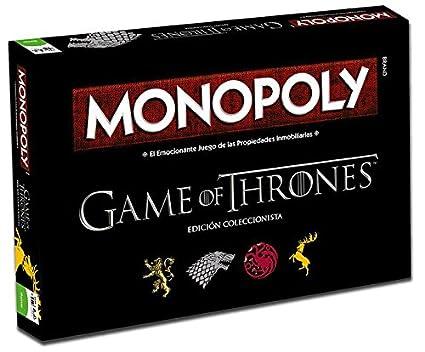 Juego De Tronos Monopoly Edicion 82905 Amazon Es Juguetes Y Juegos