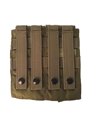 Eagle Industries Molle M-4 Double Mag Pouch Khaki (Eagle Industries Plate Carrier)