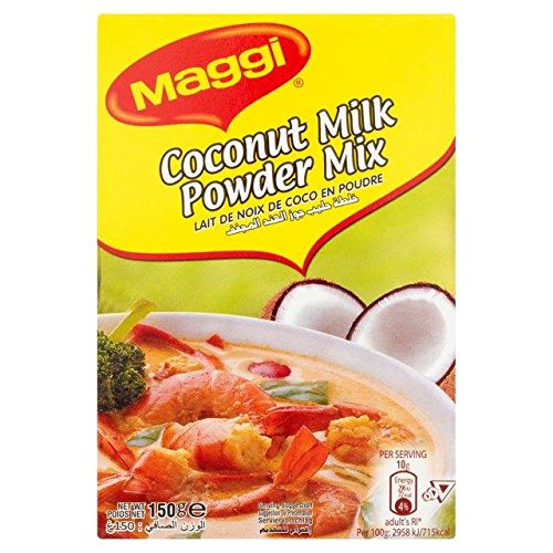 MAGGI - Coconut Milk Powder - Special Ingredienti for your DIY Cosmetics and Beauty Recipes - Perfect for Hair and Skin Care - 150 ()