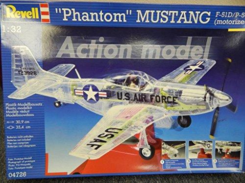 ドイツレベル 1/32 ファントム・ムスタング P-51D/K 04726 プラモデル