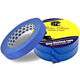#7: Bates- Painters Tape, 0.7 inch Paint Tape, 3 Pack of Painter Tape, Painting Tape, Masking Tape, Blue Masking Tape, Painting Supplies, Wall Safe Tape, Paint Tape, Blue Painter Tape, Tape for Drop Cloth