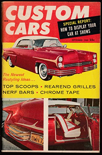 CUSTOM CARS 9 1959 scoops nerf bars Belleville Gear-Jammers Show '52 Merc - Jammers Custom