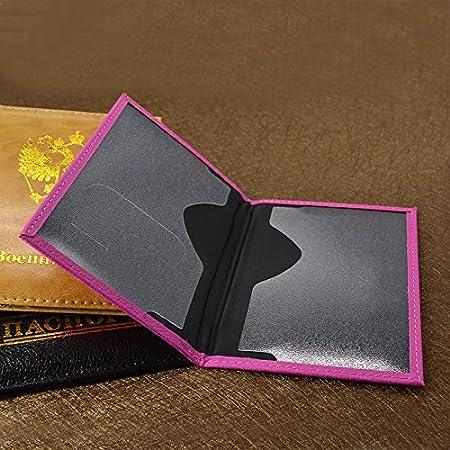 Color : Brown, Size : Free MDYHJDHYQ Passport Cover Soft Pu Leather Nederland Dutch Women Passport Holder