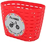 FirstBIKE Basket with sticker and sting  (Red)
