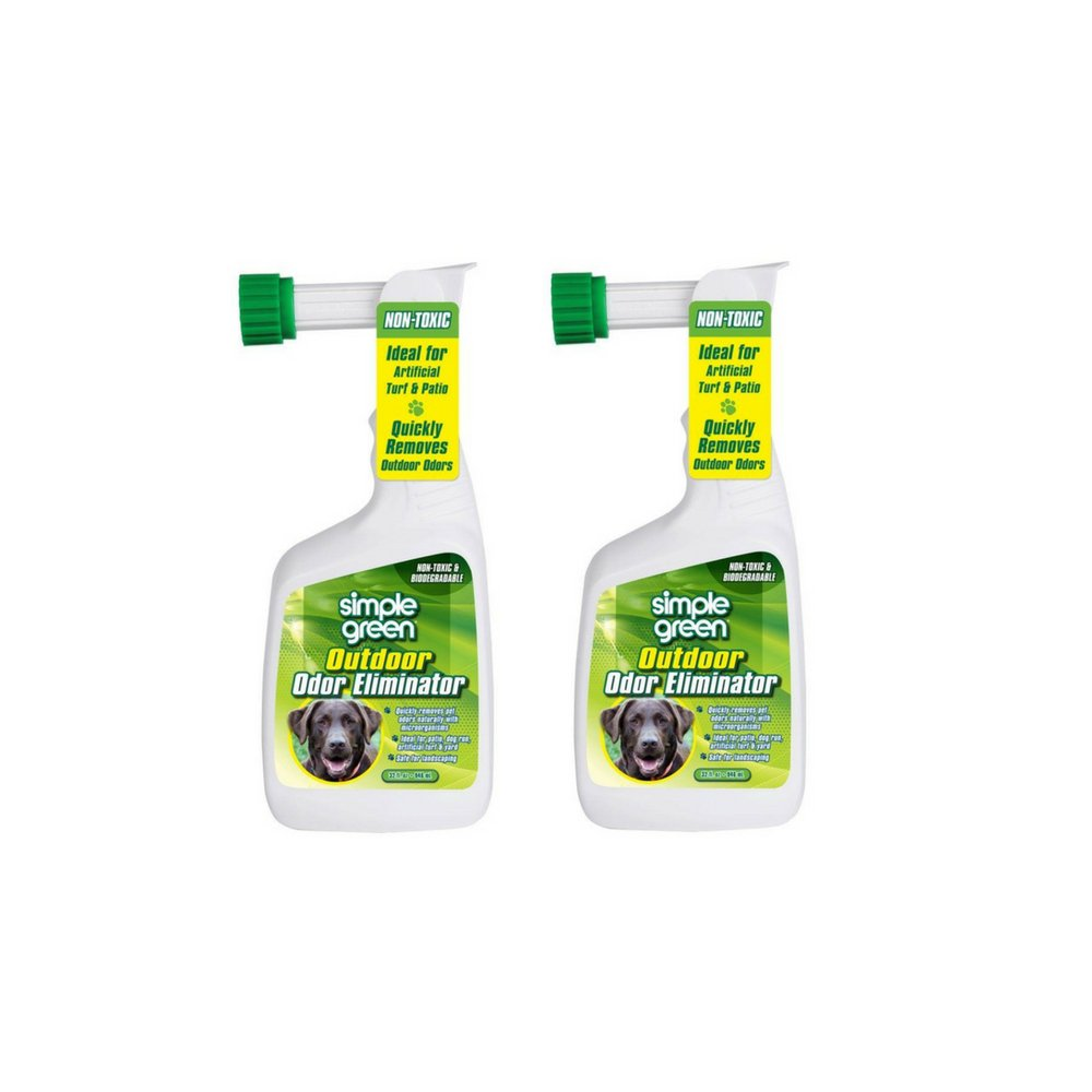 Simple Green Outdoor Odor Eliminator Hose End Sprayer for Pets 32 Ounce PHILLIPS FEED & PET SUPPLY