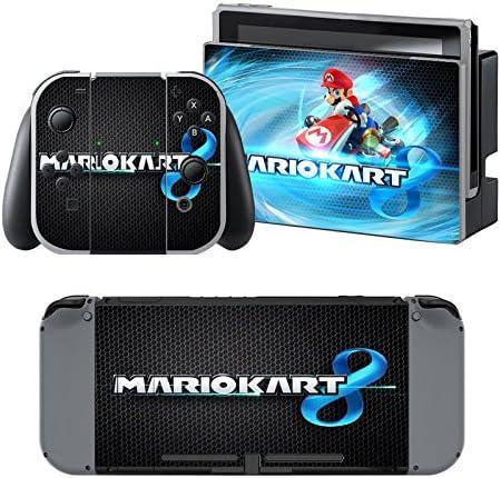 Mario Kart - Pegatina Nintendo Switch - 1 Pegatinas de Consola , 2 Pegatinas de Mandos Joy Con, 2 Pegatinas Dock y 1 Pegatina Mando.: Amazon.es: Videojuegos