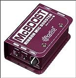 Radial McBoost Microphone Signal Intensifier
