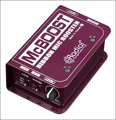 Radial McBoost Microphone Signal Intensifier by Radial