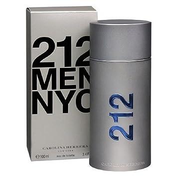 7cf1465a2 Amazon.com   Carolina Herrera 212 NYC Men Eau de Toilette Spray 3.4 fl oz    Beauty