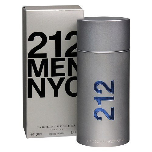 (Carolina Herrera 212 NYC Men Eau de Toilette Spray 3.4 fl oz)
