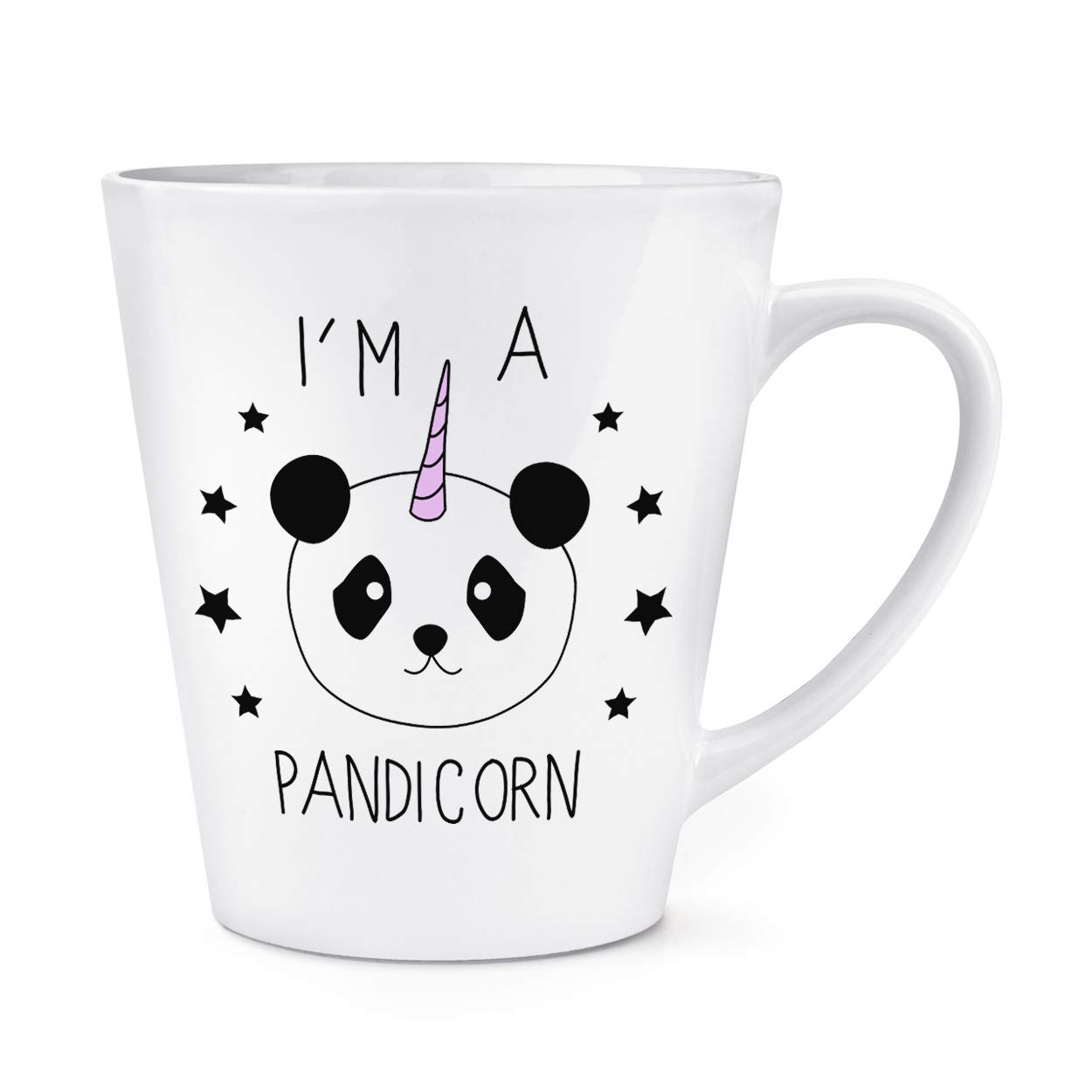 IM a Pandicorn 0,35L Latte Taza: Amazon.es: Hogar