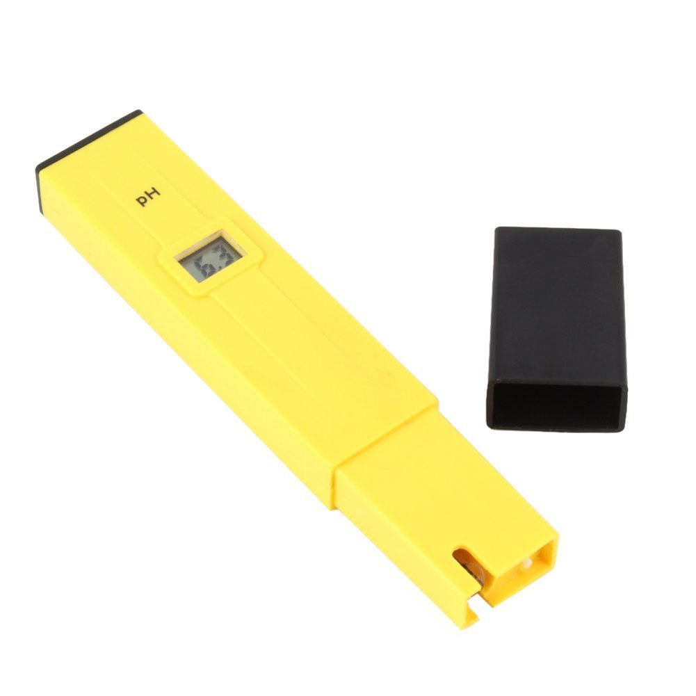 Aquariums Extra Two Packs of PH Calibration Solution Mixture LuckyStone Other case Digital PH Meter PH-009 Pocket Size Water Quality pH Tester for Household Drinking Water Hydroponics Swimming Pools