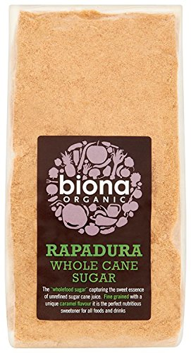 Sugar Whole Cane (Biona Organic Rapadura Whole Cane Sugar 500g)
