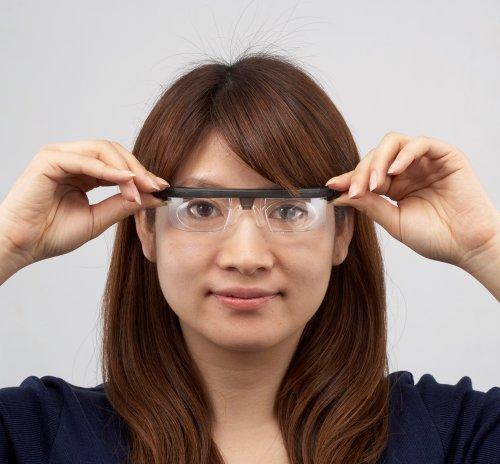 adlens(アドレンズ) アドレンズ エマージェンシー 災害緊急用眼鏡 -6.0~+3.0度適応 ブラック EMR0001