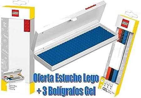 Estuche Lego con Bolígrafos: Amazon.es: Juguetes y juegos
