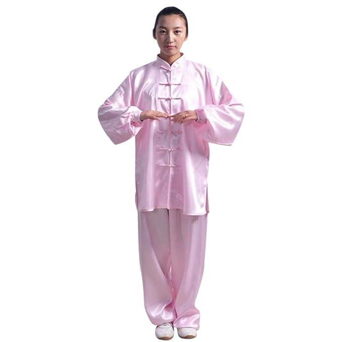Amazon.com: Bozevon Tai Chi Uniform Ropa – Shaolin Kung Fu ...