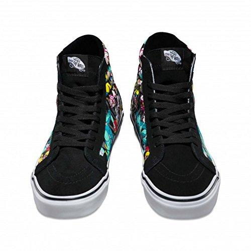 a8c7e0a313 Vans Disney Damen Schwarz Rabbit SK8-Hi Sneakers: Amazon.de: Schuhe &  Handtaschen