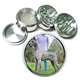Dog Great Dane 04 4Pc Aluminum Grinder