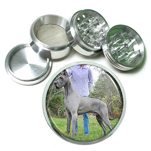 Dog Great Dane 04 4Pc Aluminum Grinder by Perfection In Style