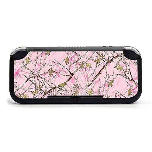 MIGHTY SKINS MightySkins Skin Compatible with Nintendo Switch Lite - Conceal Pink | Protective, Durable, and Unique Vinyl Decal Wrap Cover | Easy to Apply, Remove, and Change Styles | Made in The USA