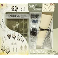 Jewelry Basics Class In A Box Kit, Silver Tone Earrings