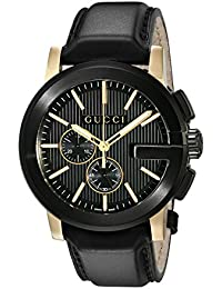 f94c1be9cda Gucci G - Chrono Collection Black Mens  Watch(Model YA101203)