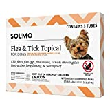Amazon Brand - Solimo Flea and Tick Topical