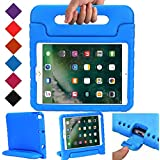 BMOUO Case for New iPad 9.7 Inch 2018/2017 - Shockproof Case Light Weight Kids Case Cover Handle Stand Case for iPad 9.7 Inch 2017/2018 New Model - Blue