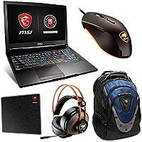 MSI GE63 Raider 15.6120Hz Full HD Core i7-7700HQ GTX 1050 4GB 512GB x 2 SSD Gaming Laptop Bundle