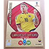 ADRENALYN XL FIFA WORLD CUP 2018 RUSSIA - JAMES RODRIGUEZ PREMIUM LIMITED EDITION TRADING CARD - COLOMBIA