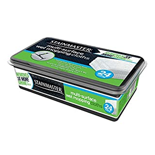 STAINMASTER Wet Mopping Cloths Multi-Surface, 24ct