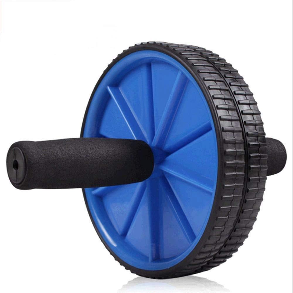Olydmsky Wheel Bauchtrainer Abdominal-Rad ABS Bauch Rad-Double Mute, gesunden Bauch Fitness-Geräte
