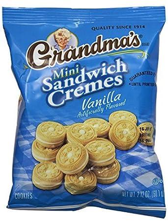Grandmas sandwich cookies