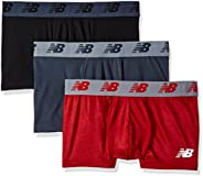 """New Balance Men's 3"""" Boxer Brief No Fly, with Pouch, 3-Pack of"""
