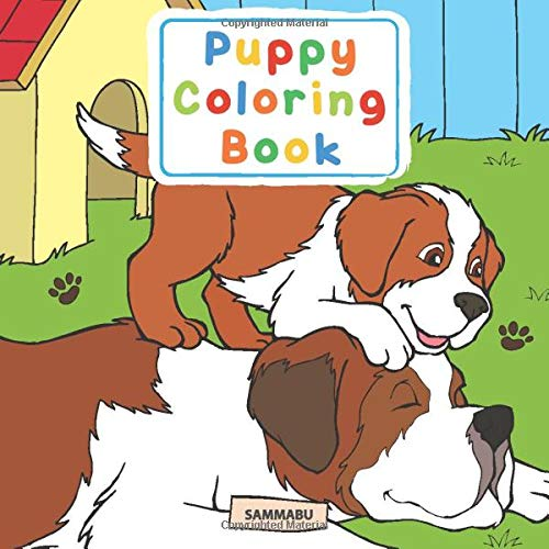 Puppy Coloring Book: For Kids And Adults Who Love Dogs And Puppies:  Edition, Sammabu: 9781075967498: Amazon.com: Books