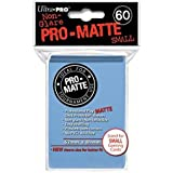 Ultra Pro Pro-Matte Sleeves - Light Blue, Small - for Yu-Gi-Oh, Cardfight/CFVG (60 Deck Protectors)