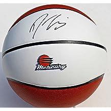Autographed Diana Taurasi Basketball - Phoenix Mercury Full Size Logo w COA WNBA #1 - Autographed Products
